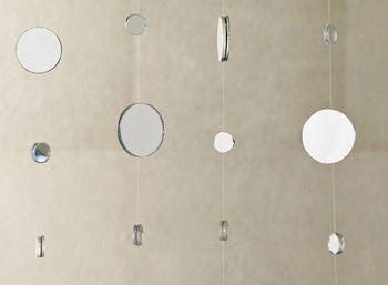 DIY Idea: Mirror Curtain