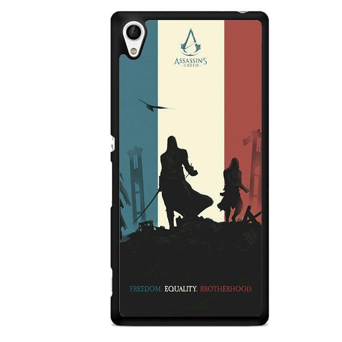 Assasin Creed Arts TATUM-1024 Sony Phonecase Cover For Xperia Z1, Xperia Z2, Xperia Z3, Xperia Z4, Xperia Z5