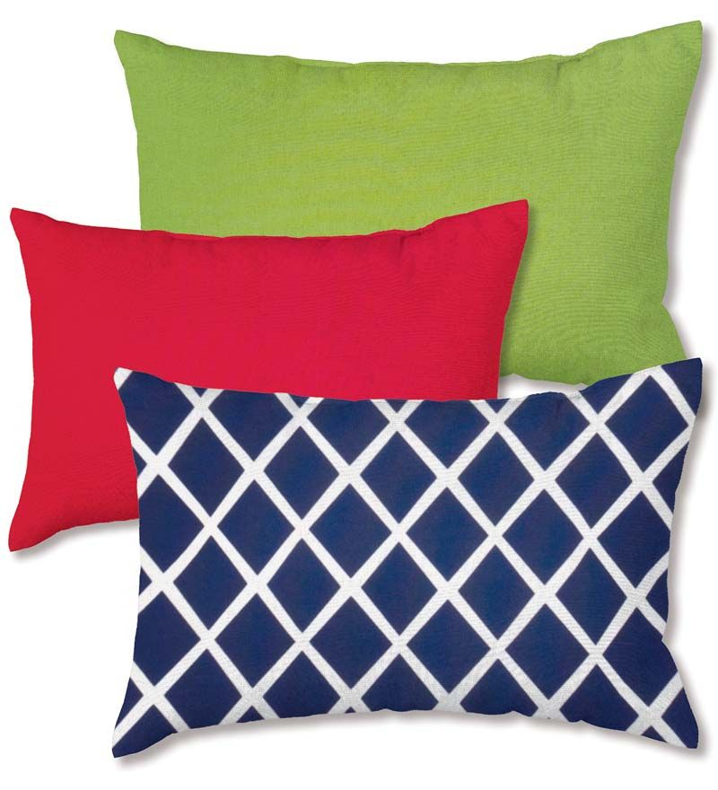 Add Back Support And A Pop Of Color To Outdoor Furniture With A