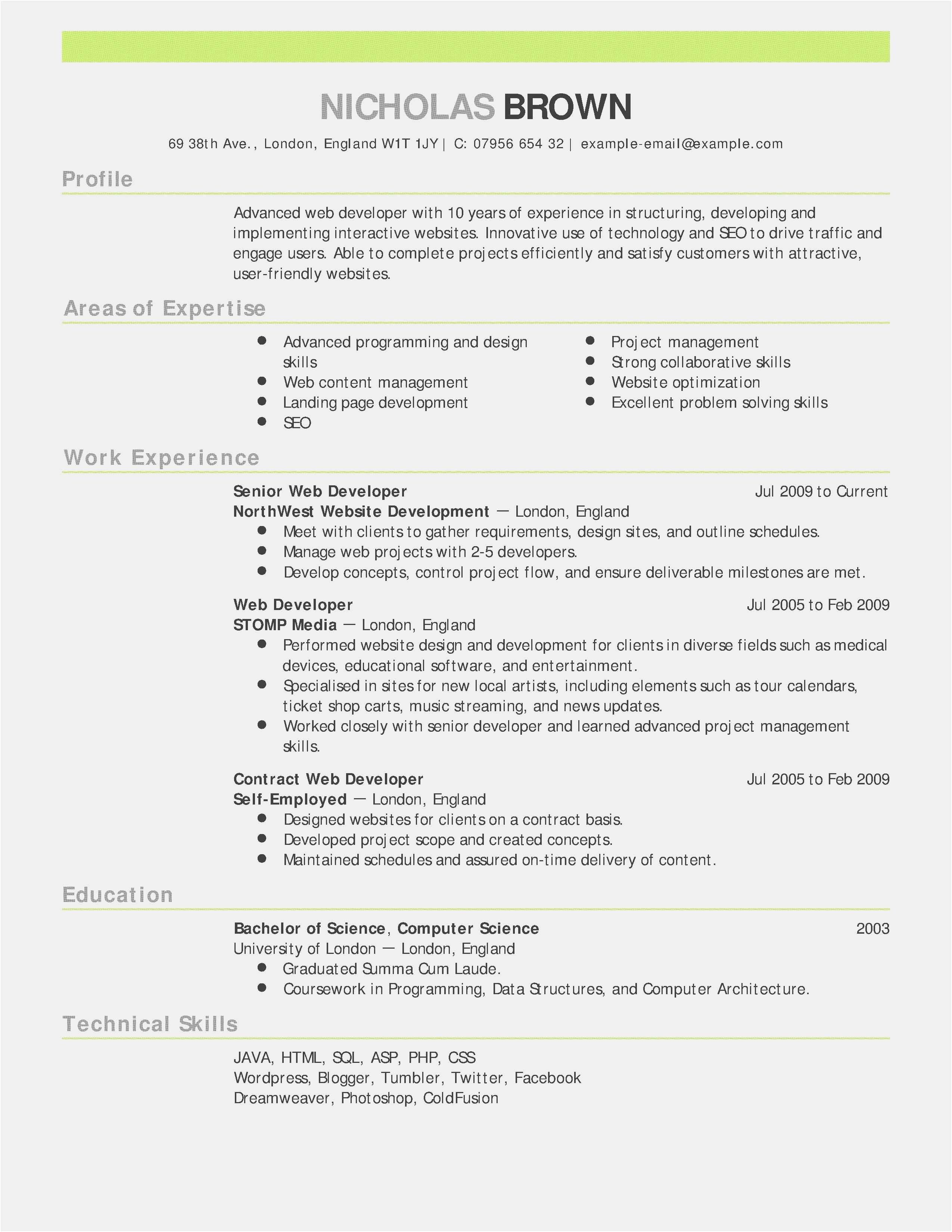Special Skills Acting Resume Fresh Free 53 Actor Resume Template