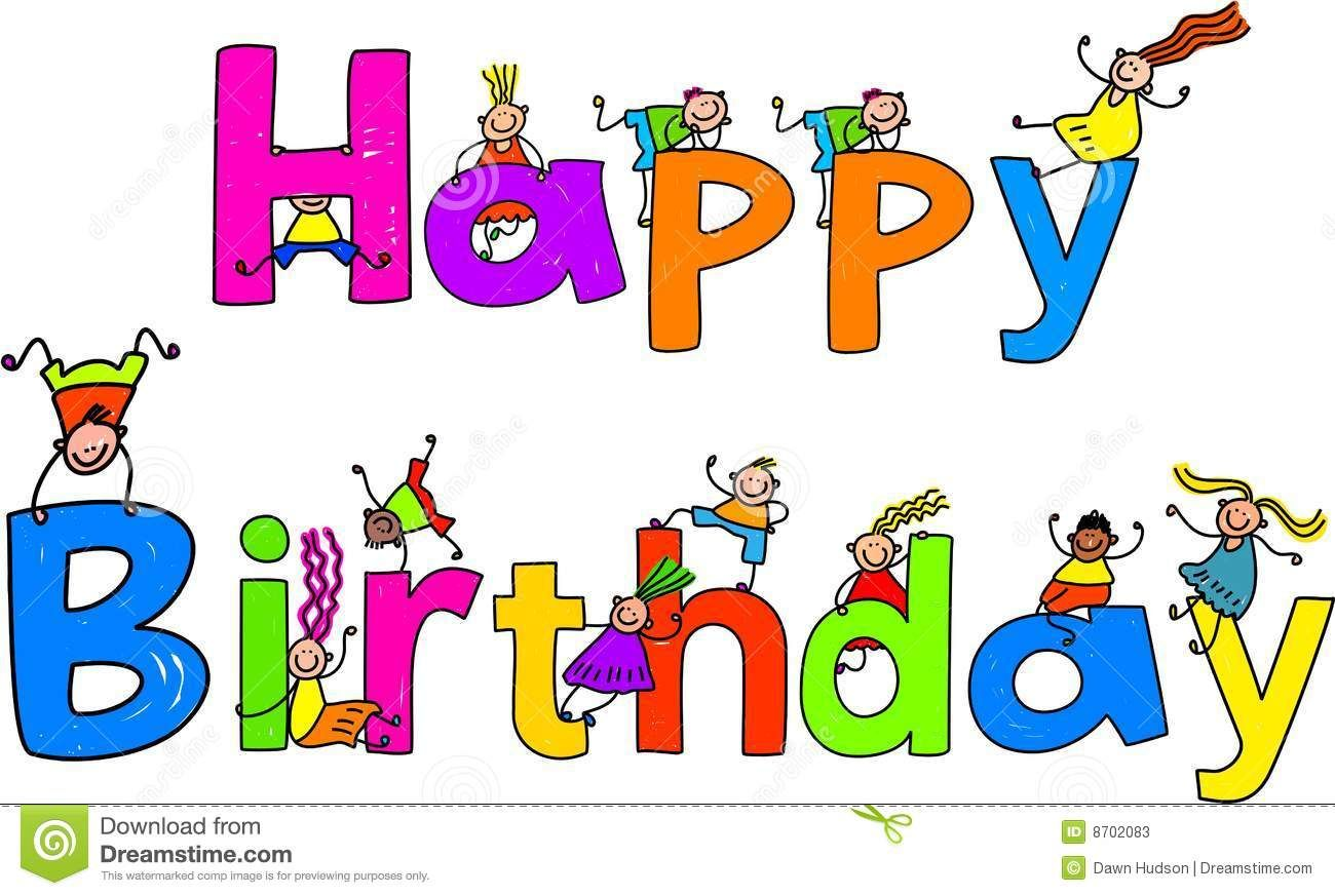 Animated Happy Birthday Clip Art Free School Clipart Feestdagen Kaarten Verjaardag