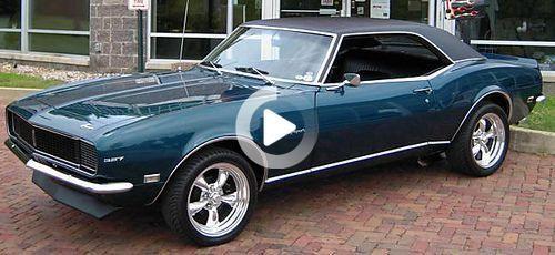 1968 Chevrolet Camaro RS –  More Classic Camaros