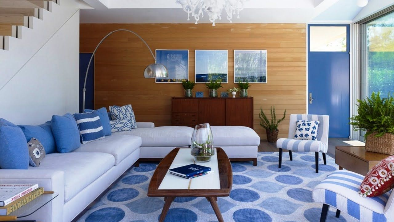 Sublime Blue White Living Room Design Ideas Living Room Interior Ideas 30897272 Home Draw Blue And White Living Room Lounge Room Design Living Room Designs