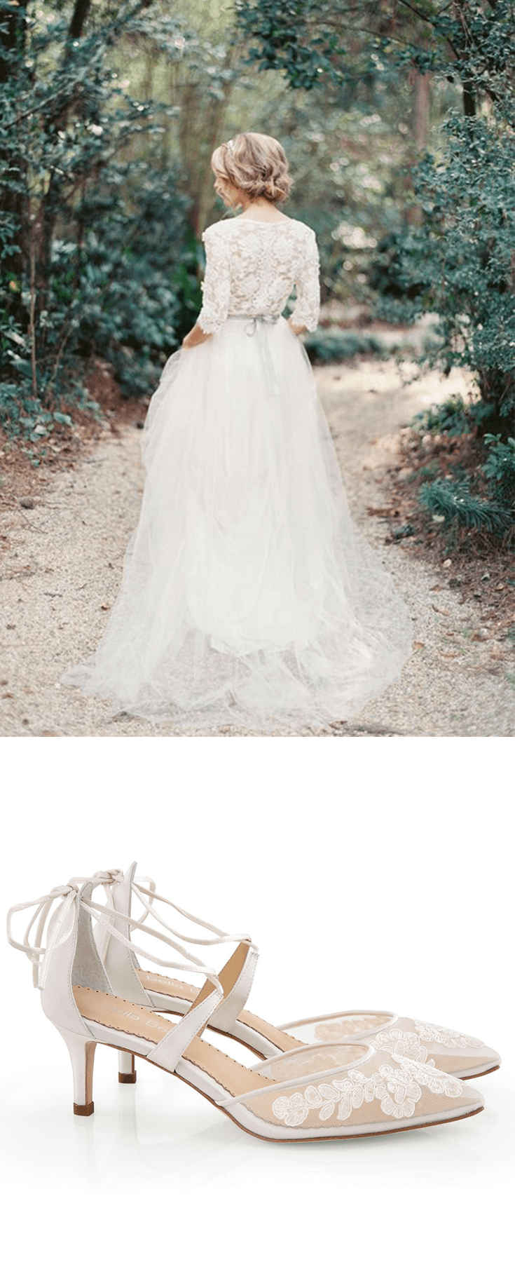 Kitten Heel Lace Wedding Shoes Wedding Shoes White Wedding