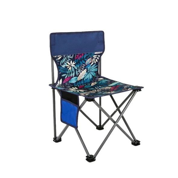 Portable Foldable Camping Chair Outdoor Picnic Patio Fishing Chair Lightweight
