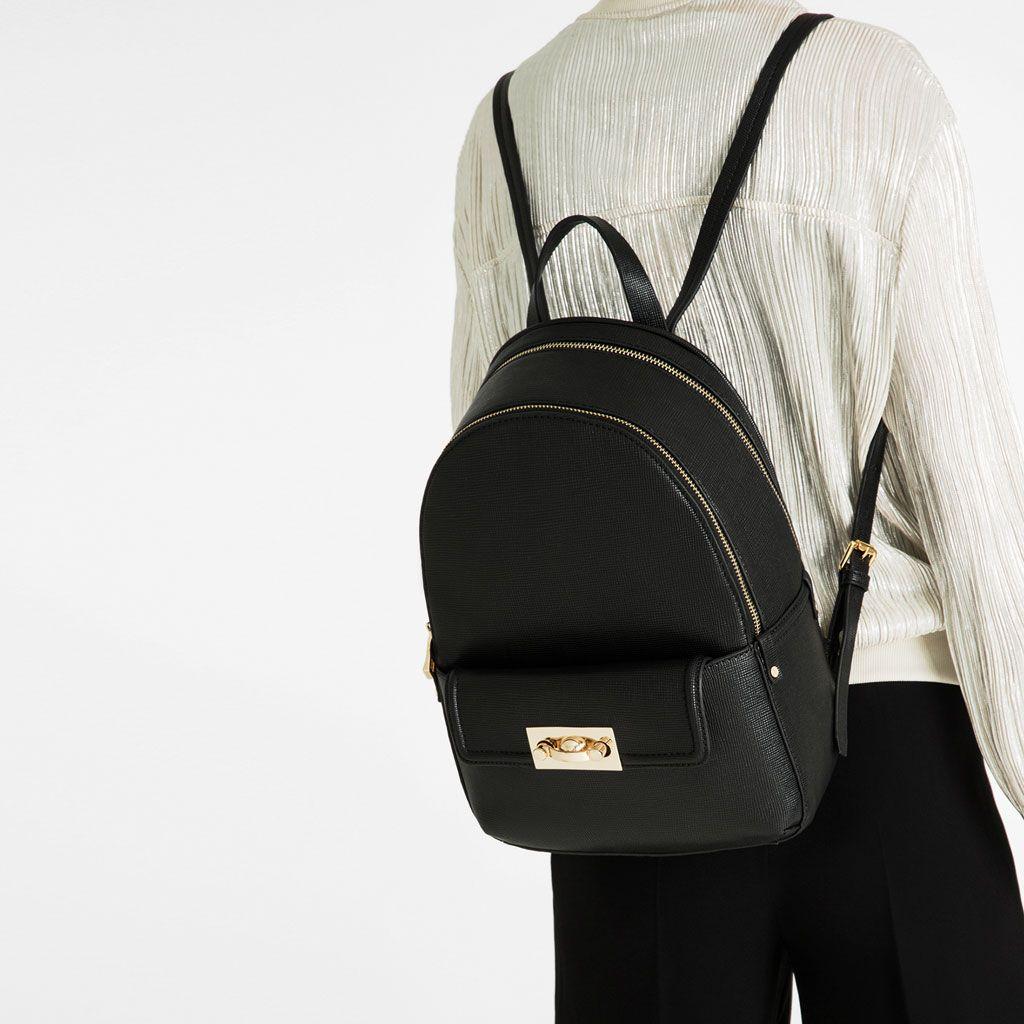 sac dos zip sacs dos sacs femme zara canada mode. Black Bedroom Furniture Sets. Home Design Ideas