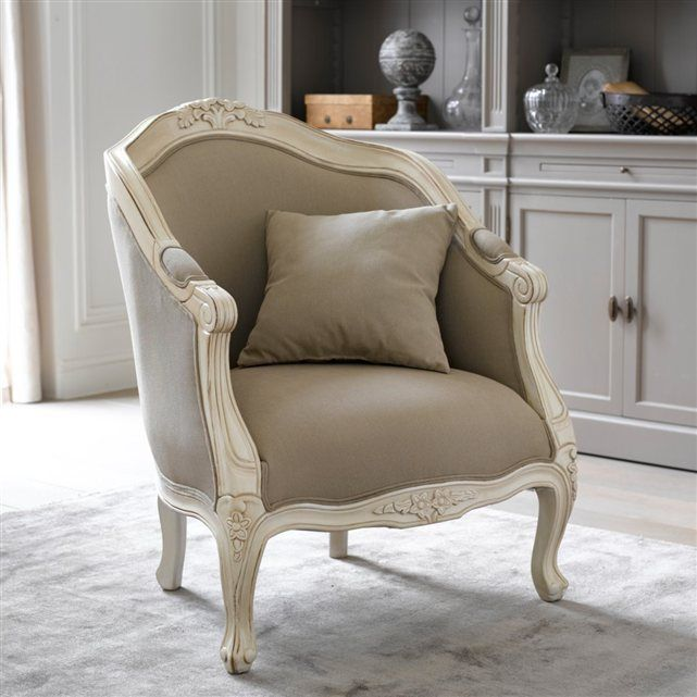 fauteuil bergre nottingham la redoute interieurs victorian chair classic sofa upholstered chairs - Fauteuil Bergere Ancien