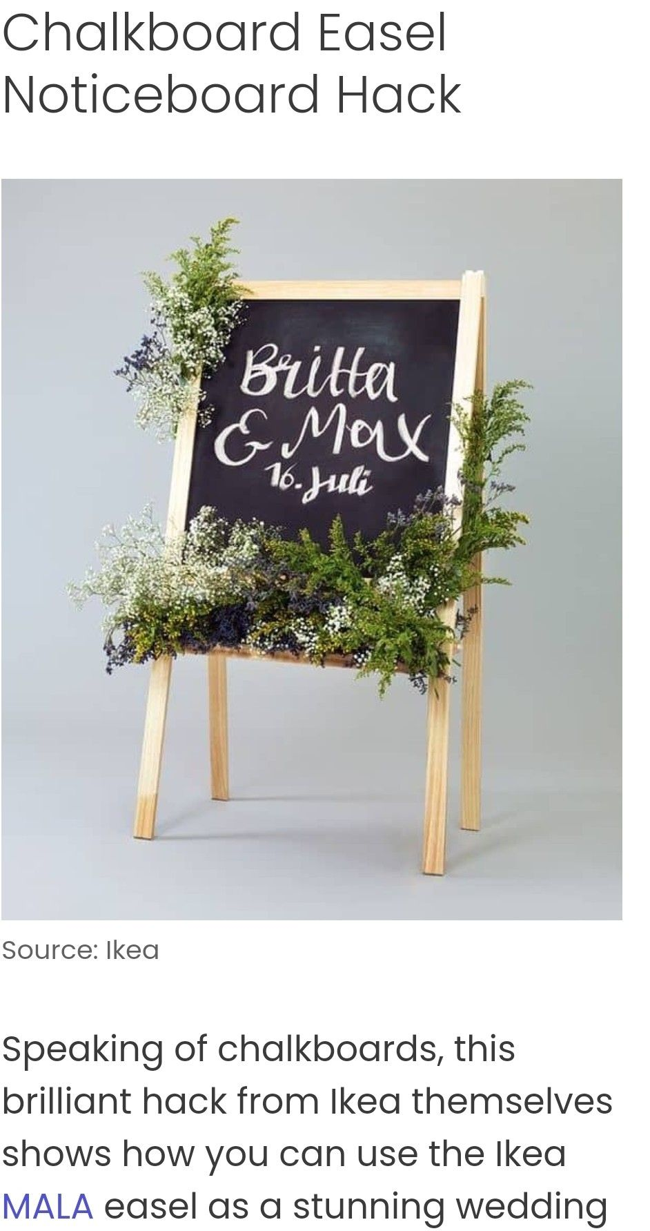 Ikea easel sign in 2020 ikea easel sign