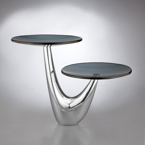 Amazon.com: Nambe Morphik 2 Tier Server: Kitchen & Dining what a gorgeous serving piece