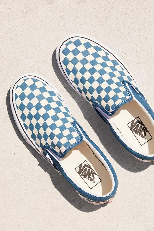 Classic Checkered Slip-On   Vans shoes