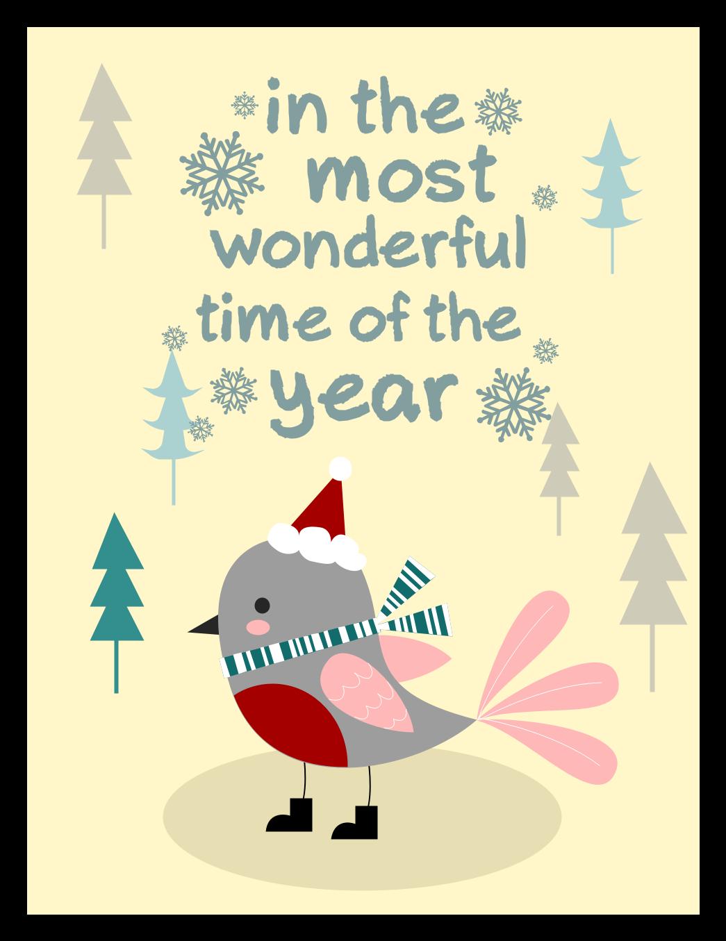 Kids Christmas Card Template Edrawmax Christmas Card Template Christmas Cards Christmas Flyer