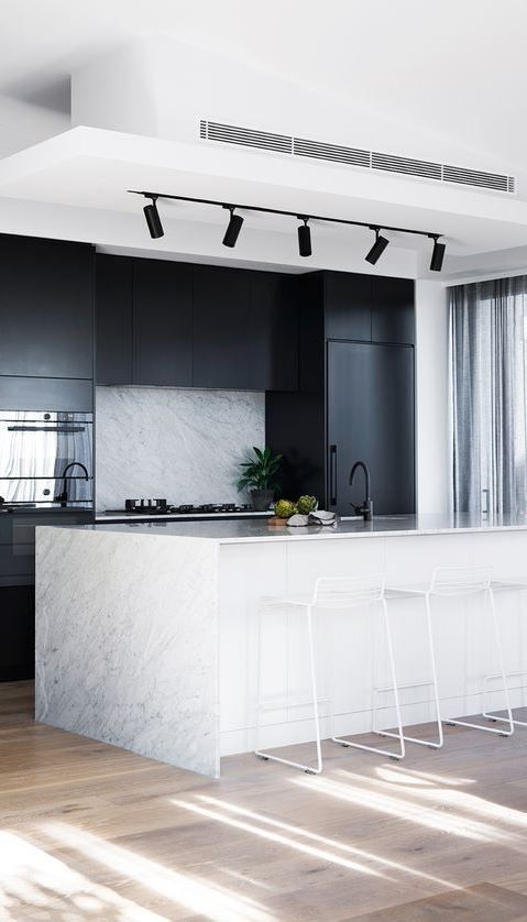 Marble Kitchen a Classic and Tips for Choosing Marble #marblekitchen marble kitchen decor, marble kitchen accessories, painting marble countertops, carera marble kitchen, carerra marble kitchen, cararra marble kitchen, carrera marble kitchen, calacutta marble kitchen, carara marble kitchen, grey marble kitchen #greykitcheninterior