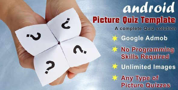 Picture Quiz Template With Google Admob Codecanyon collections - resume quiz
