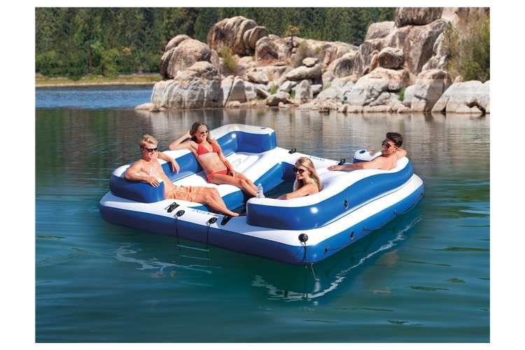 Intex Oasis Island Inflatable Lounge Raft Inflatable Floating Island Floating Island Raft Inflatable Island