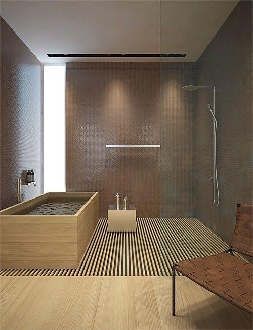 Bagno in stile giapponese bathroom badezimmer bad e badezimmer design - Bagni bellissimi moderni ...