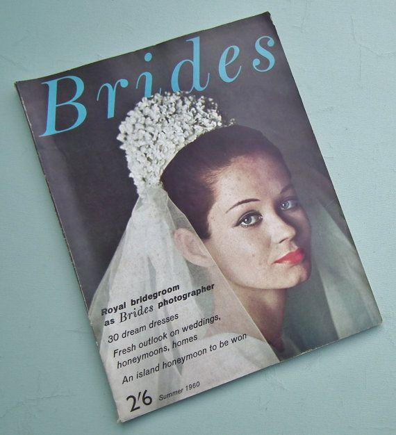 Vintage Wedding Dresses Michigan: Vintage Brides Magazine Summer 1960 Vintage 50s By