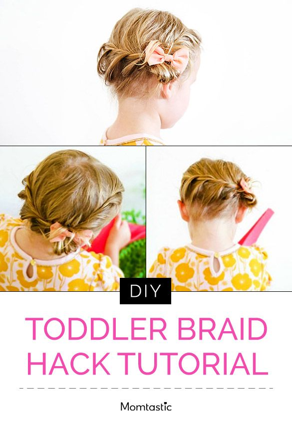 Easy Toddler Braid Hack Tutorial