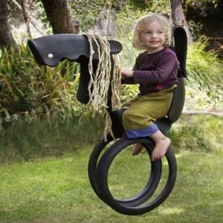 Paardenschommel Autoband Autobanden Schommel Kinderschommel