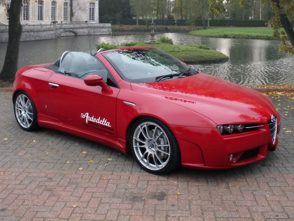 alfa romeo brera spider 3 2 v6 jts 3 195 cc v6 engine 256 hp at 6200 rpm 1 470 kg alfa. Black Bedroom Furniture Sets. Home Design Ideas