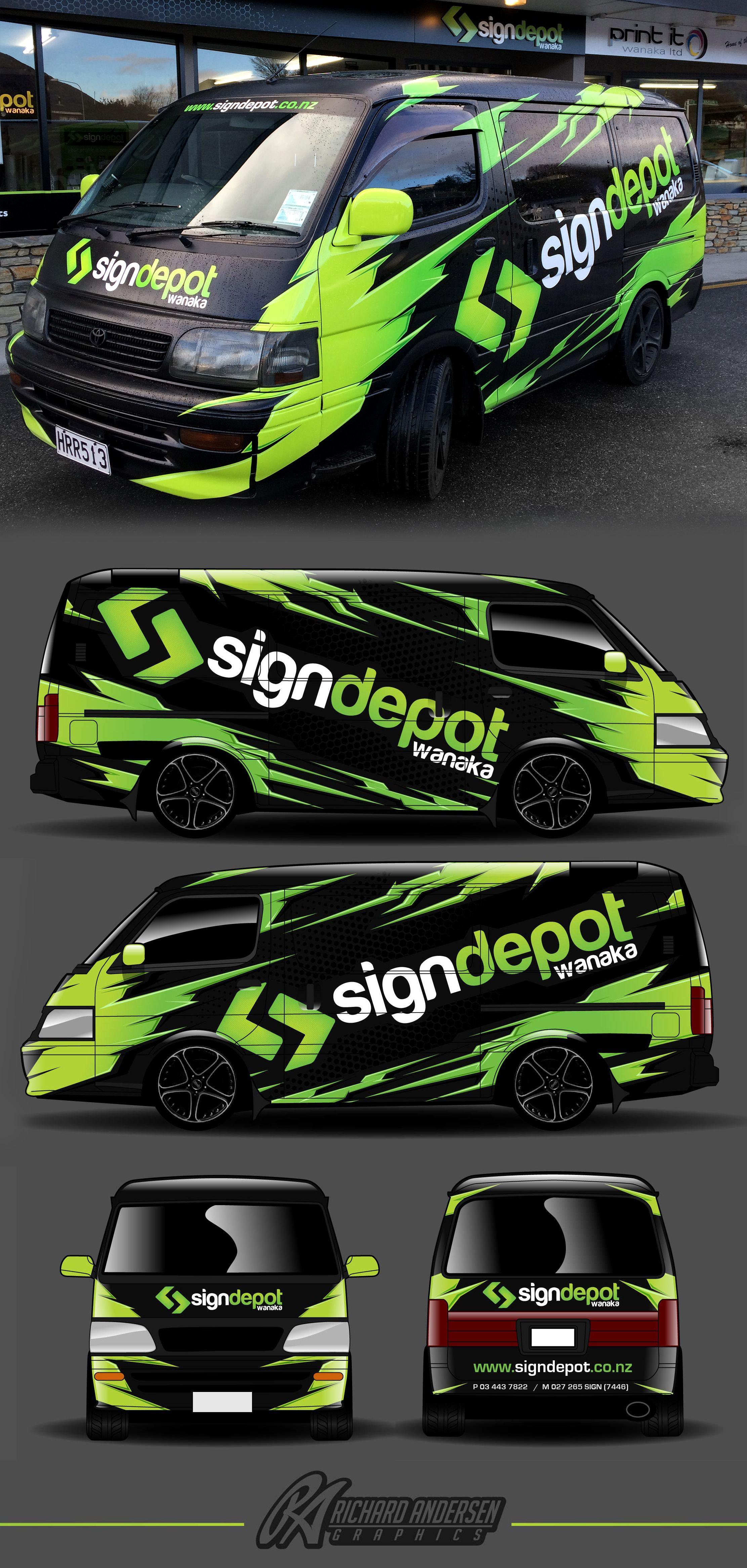 Wrap Design By Richard Andersen Https Ragraphics Carbonmade Com Vehicle Signage Car Wrap Car Wrap Design