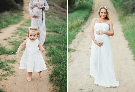 76f9f4bb92773 Mother-daughter maternity shoot for Mother's Day | Megan Welker | 100 Layer  Cakelet