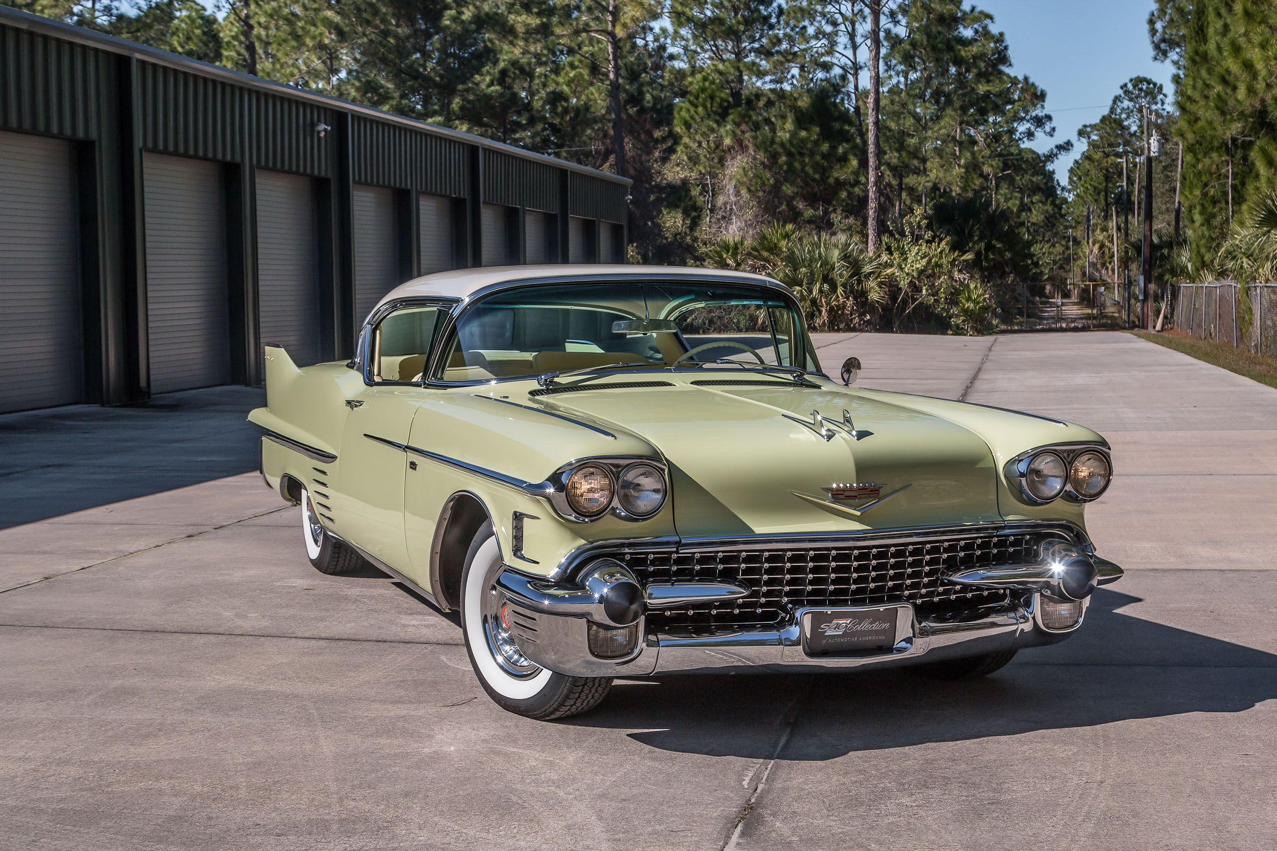 58 CADILLAC COUPE DEVILLE | Cadillac, Standard of the World ...