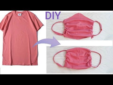 Photo of EASY No Sew Face Mask 2 variants●How to Make Face Mask at homе● Easy DIY Face Mask