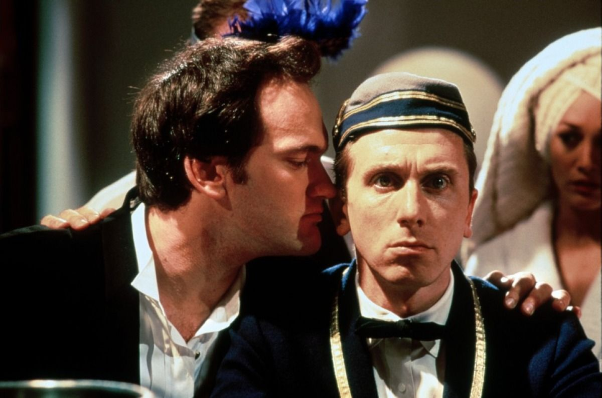 Tim Roth and Quentin Tarantino - Four Rooms | Tarantino ...