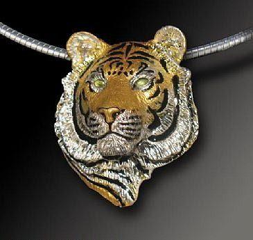 de899f9d8 Bengal Tiger Pendant -