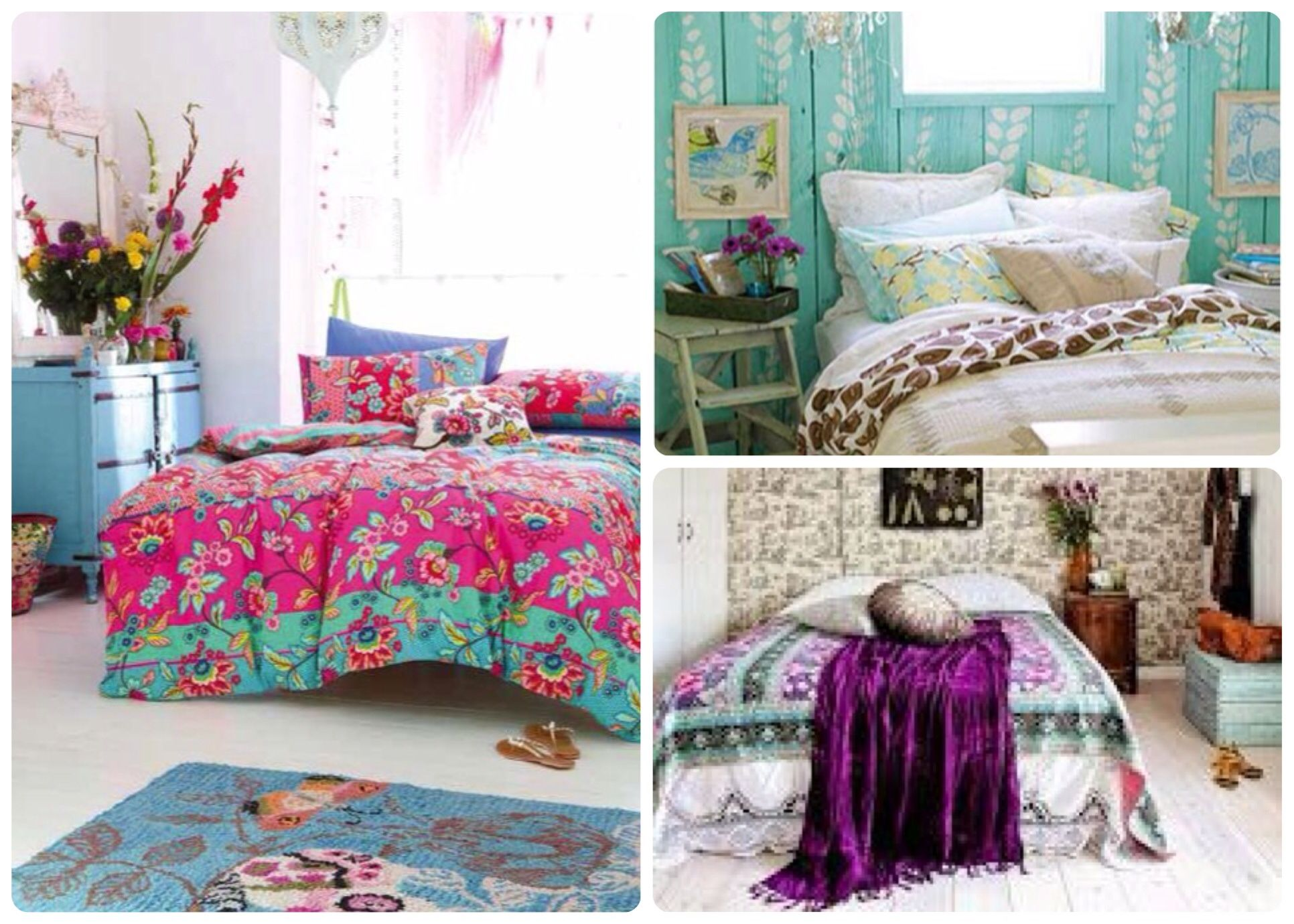 Boho Chic Vintage Bedroom