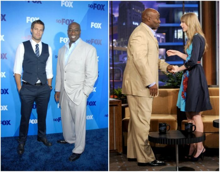 Michael Clarke Duncan S Height 6 5 196 Cm Actors Height Height And Weight Michael