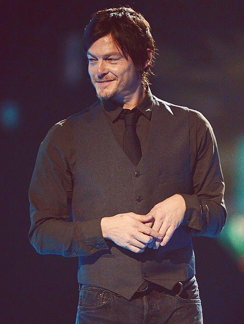 Norman Reedus - He just has this fine air about him. He's not a complete looker but he makes up for it with everything he is which ironically makes him so fine. He could take me home no problem.