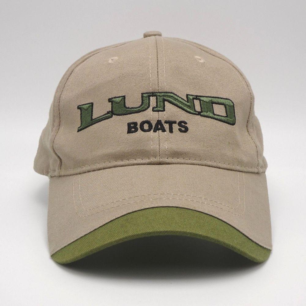 0e7df07eaf8c26 Lund Boats Strapback Baseball cap hat Embroidered Front Logo #CapAmerica  #BaseballCap Cotton Hat,