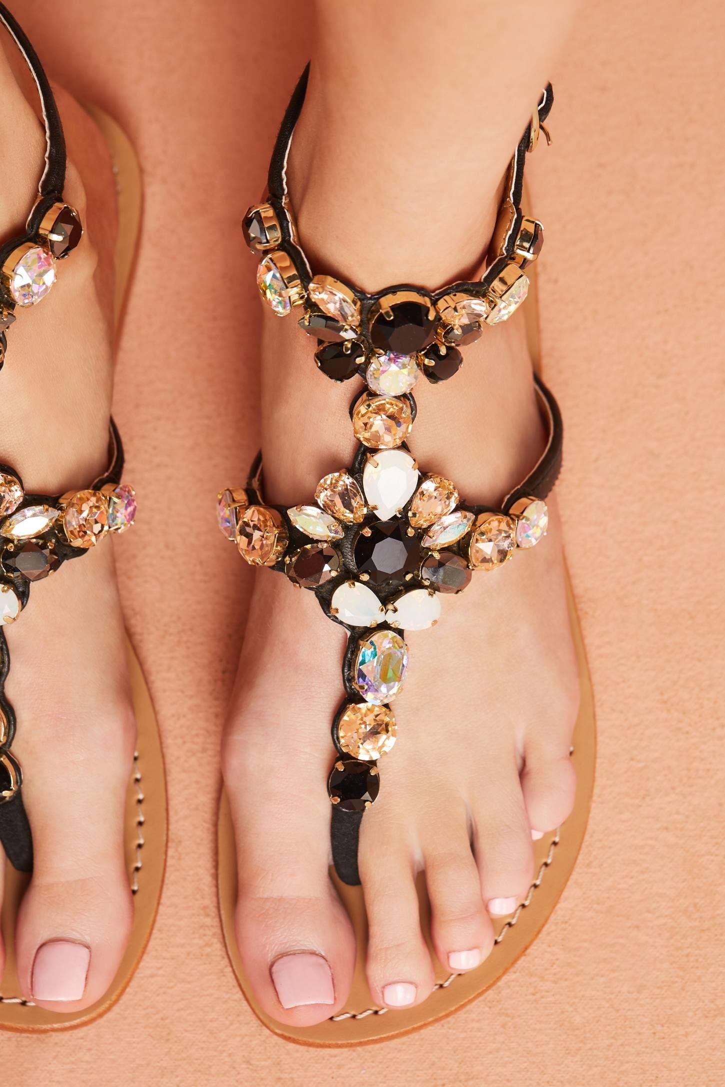 4bcaff9548f37 Slide View  4  Mystique Gemstone Gladiator Sandals