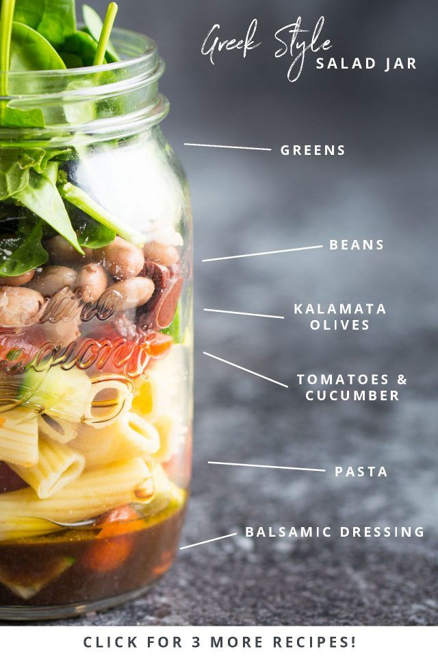 Three Quick Vegan Salad Jars Nutritious Make Ahead Lunches