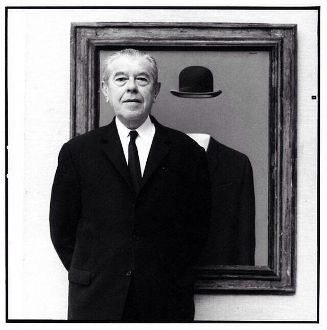 Rene Magritte Photo C Lothar Wolleh Rene Magritte Magritte Art Magritte