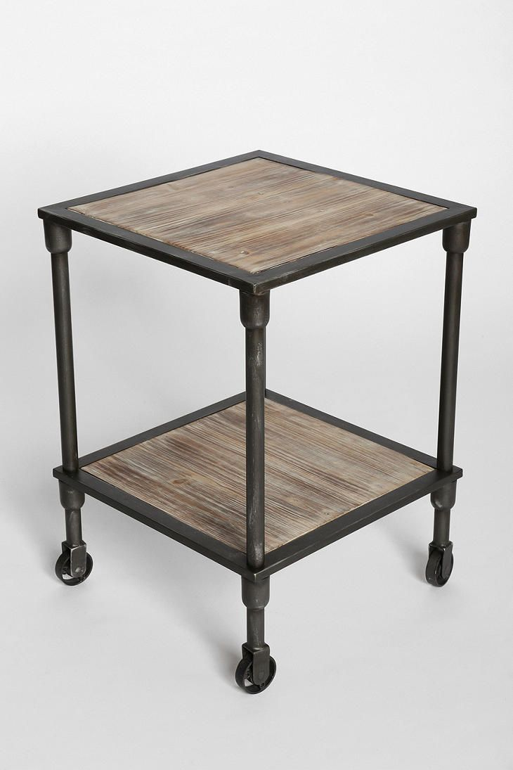 4040 locust heritage rolling side table urban outfitters 149