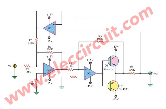 Voltage to current using op-amp and power transistor | Simple ...