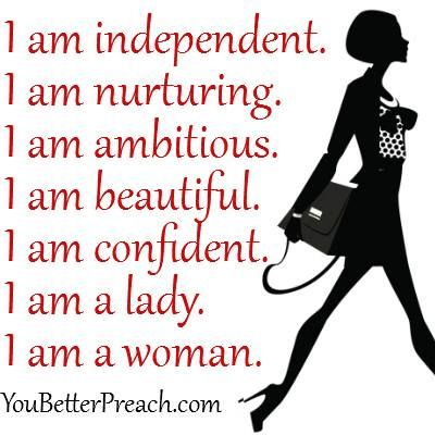 I am ......... for confidence in women. ⊱ ⊰   Self esteem ... Confidence Quotes For Women