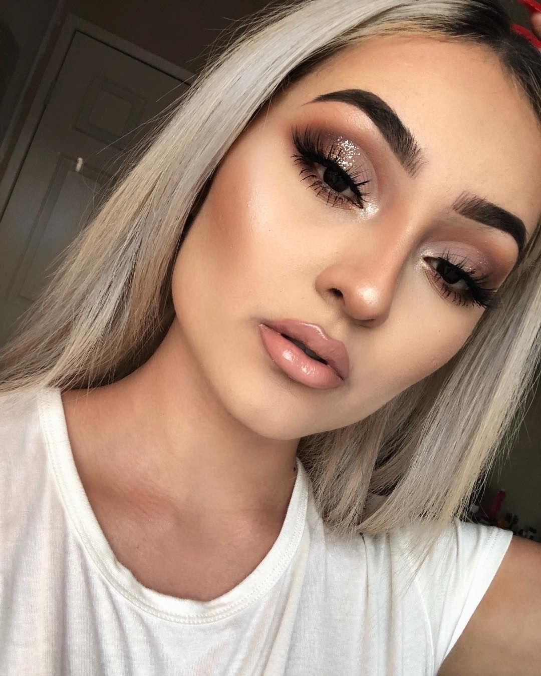 pinterest>JESSICADELAO† Stunning makeup,