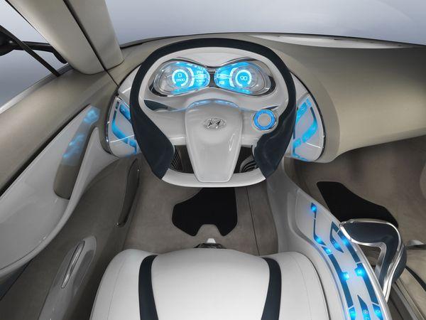 Terrific Hyundai Hed 4 Qarmaq Futuristic Car Interior Future Car Interior Design Ideas Tzicisoteloinfo