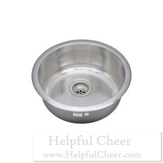 Wells Sinkware 19-inch Undermount Single Bowl 18-gauge Stainless Steel Kitchen Bar Sink G- deliv