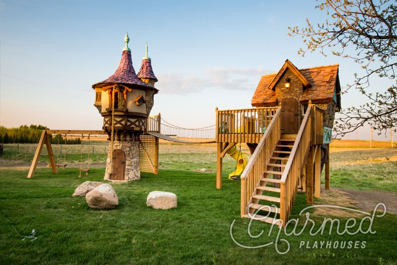 Charmed Playhouses – AMAZING kids playhouses! Love the ...