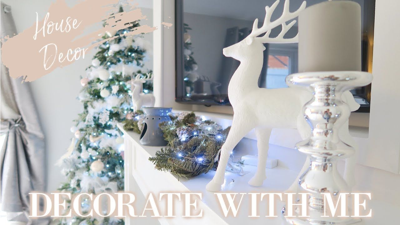 Decorating My House For Christmas 2018 Decorate With Me