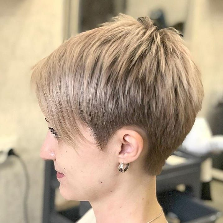 Stylish Pixie Haircuts In Ultra Modern Shapes Haircuts Pinterest