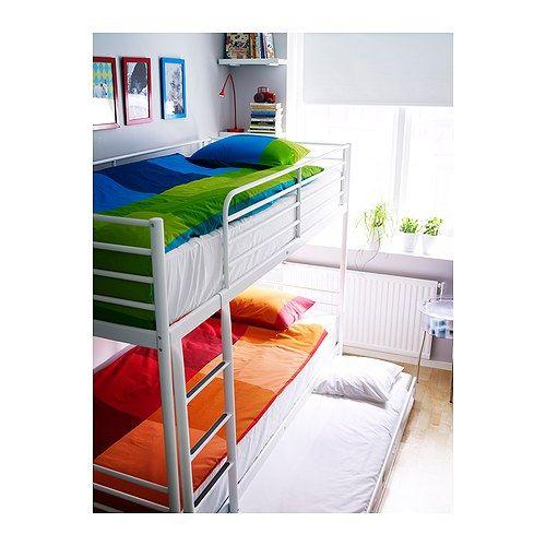 Wonderbaar Stapelbed Ikea Tromsö met onderbed … | bedden - Ikea … TI-23
