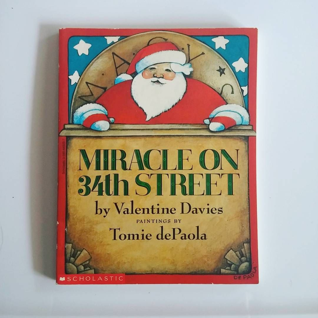 """Paperback in VG++ condition. $5.00 #books #booksforsale #instabooks #bookstagram #Christmas #Miracleon34thStreet"""