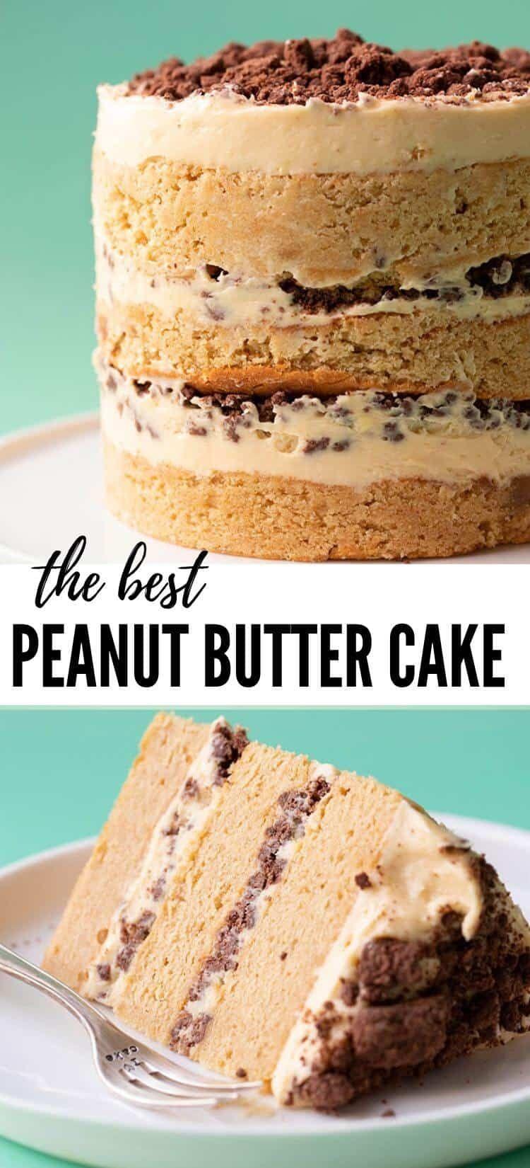 Peanut Butter Cake (Milk Bar Inspired) - Sweetest Menu