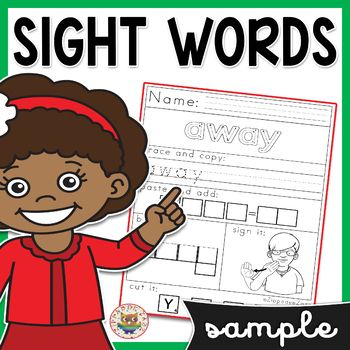 Simplifying Algebraic Expressions Worksheets Pdf This No Prep Preprimer Sight Words Worksheet Sample Is Great For  First Grade Halloween Math Worksheets with Maths Worksheets Year 2 Printable Word This No Prep Preprimer Sight Words Worksheet Sample Is Great For Early  Finishers Assessing Taught Skills Morning Work And Homework These  Worksheets Are Handwriting Worksheets For Kids Free