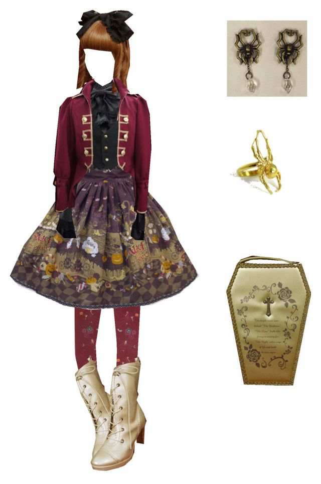 """""""Ariados"""" by miloceane ❤ liked on Polyvore"""